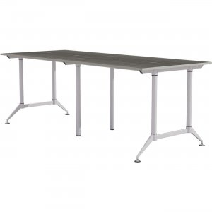 """Mayline EVEN Workstation, 2-Person, 24 x 48"""", Standing-Height LD7SD"""