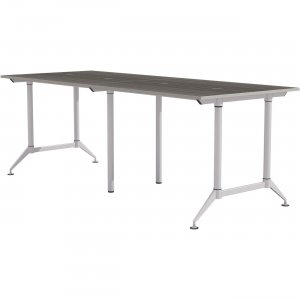 """Mayline EVEN Workstation, 4-Person, 24"""" x 60"""", Standing-Height LD8SD"""