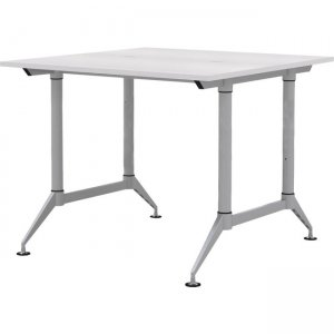 Mayline EVEN Standing Height 2-Person Dual Sided 24 x 60 Each User LD2SW LD2S