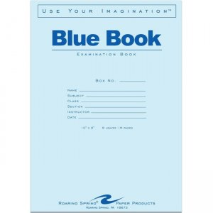 Roaring Spring Exam Book 10 x 8 77507 ROA77507