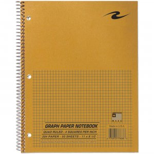 "Roaring Spring WB Notebook 1Sub 11""x8.5"" 20# 4X4 77688 ROA77688"