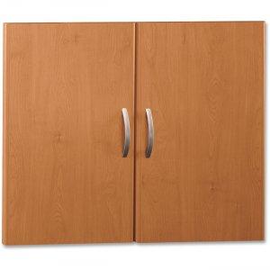 Bush Business Furniture Series C Half Height Door Kit in Natural Cherry WC72411