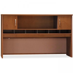 Bush Business Furniture Series C72W 2 Door Hutch in Natural Cherry WC72466