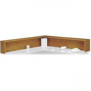 Bush Business Furniture Series C Reception L-Shelf in Natural Cherry WC72476