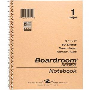 Roaring Spring 1-Subject Wirebound Notebook 12011 ROA12011