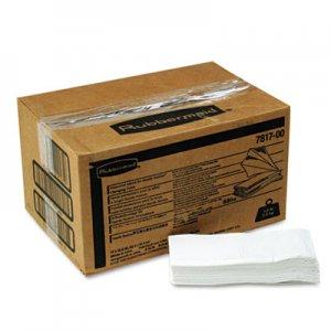 Rubbermaid Commercial Liquid Barrier Liners, 12.5 x 17, 320/Carton RCP781788WE FG781788WHT