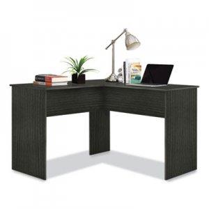 "Easy 2 Go Corner Computer Desk, 47.83"" x 47.83"" x 30.39"", Dark Gray EYG24343773 WE-OF-0152G"
