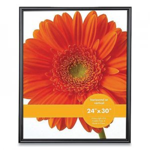 Victory Light Plastic Poster Frame, 24 x 30 Insert, Black VLU198949 VF0023B.2430
