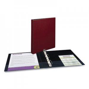 """Case it Mighty Zip Tab Binder, 3 Rings, 3"""" Capacity, 11 x 8.5, Red CAE271289 D-146 RED"""
