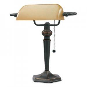 V-Light Incandescent Desk Lamp, 6.5 x 6.5 x 16, Oil Rubbed Bronze VLU416760 CAVS91045BRZ