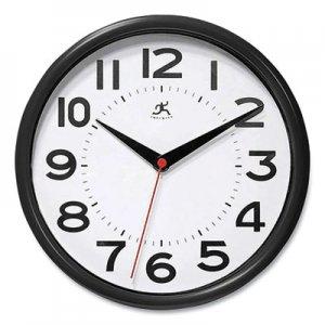 "Infinity Instruments Metro Wall Clock, 9"" Diameter, Black Case, 1 AA (sold separately) IFM949659 14220BK-3364"