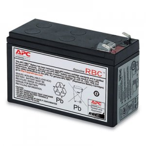 APC UPS Replacement Battery, Cartridge #17 (RBC17) SEU762275 RBC17