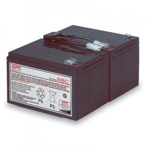 APC UPS Replacement Battery, Cartridge #6 (RBC6) SEU760784 RBC6