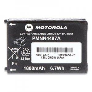 Motorola Li-Ion Battery for CLS Series Radios, 3.7 V, 1800 mAh MRT424369 PMNN4497