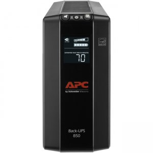 APC by Schneider Electric Back UPS Pro , Compact Tower, 850VA, AVR, LCD, 120V BX850M