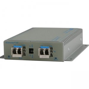 Omnitron Systems SFP to SFP Protocol-Transparent Fiber Converter 8699-0-FZ xFF