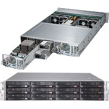 Supermicro SuperServer (Black) SYS-6028TP-DNCTR 6028TP-DNCTR