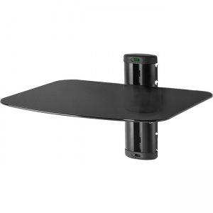 Peerless-AV Single AV Wall Shelf with Glass ACCSH200