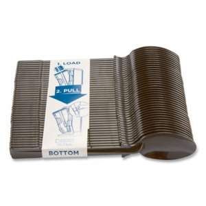 Dixie SmartStock Tri-Tower Dispensing System Cutlery, Teaspoons Mediumweight, Polystyrene, Black, 40/Cartridge, 24 Cartridges/CT DXEDUSST5 DUSST5