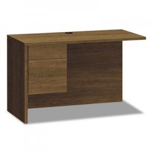 HON 10500 Series Return Shell for Desk Shell, Left, 48w x 24d x 29 1/2h, Pinnacle HON10516LPINC