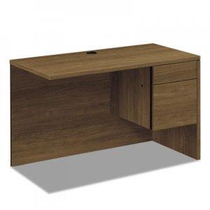 HON 10500 Series Return Shell for Desk Shell, Right, 48w x 24d x 29 1/2h, Pinnacle HON10515RPINC